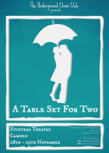 A Table Set For Two - Poster